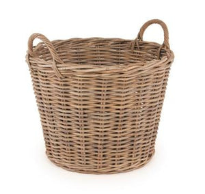 Grey Kubu Storage Log Basket
