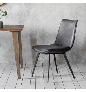 Hinks Chair 2 Pack Grey