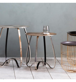 Carmel Side Table Gold