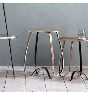 Omar Side Table Silver