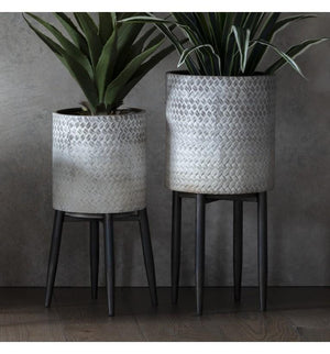 Albion Large Metal Planter