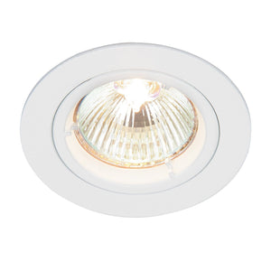 Cast Fixed Downlight Gloss White