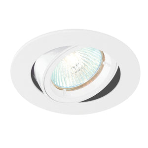 Cast Tilt Downlight Gloss White