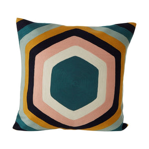 Tonola Hex Square Cushion