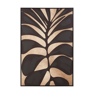 Astrid Black Palm Wall Art