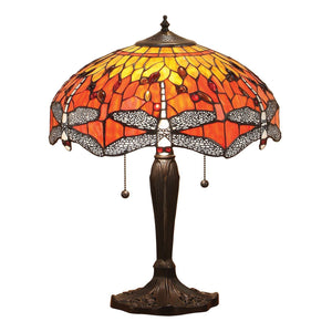 Dragonfly Flame Medium Table
