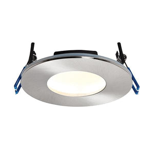 OrbitalPLUS Warm White LED Spotlight IP65 Satin Nickel