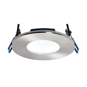 OrbitalPLUS Cool White LED Spotlight IP65 Satin Nickel