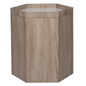 Natural White Wood Storage Box Large