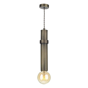 David Hunt Adling 1 Light Pendant Antique Brass