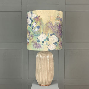 Tiree Table Lamp with Meijing Emperor Shade