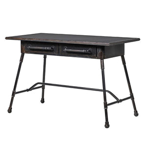 Black Iron Desk
