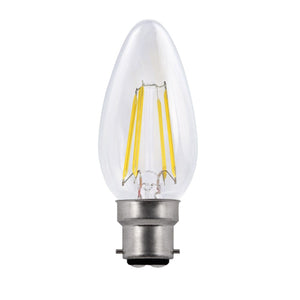 Bravo 4w BC LED Candle Dimmable
