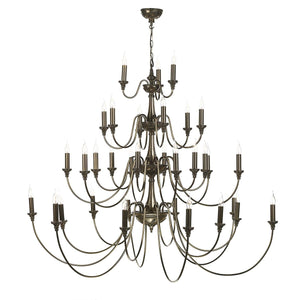 David Hunt Bailey 33 Light Chandelier Bronze