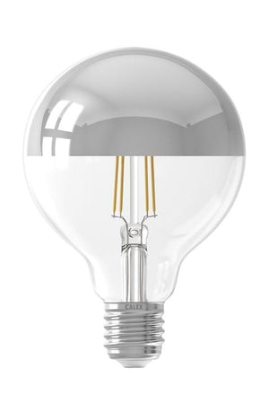 Calex Chrome Globe Bulb 95mm