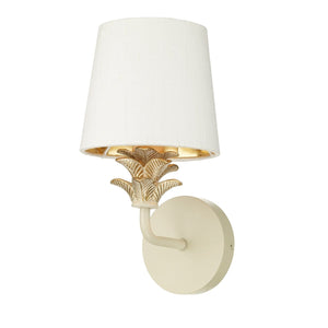 David Hunt Cabana Wall Light Cream & Gold