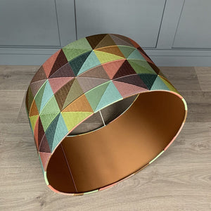 Limoges Shade with Copper Fabric Lining