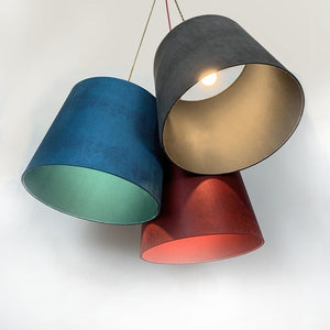 Large Troika Triple Pendant Shades