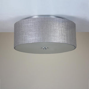 Tela Flush Shade & Glass Diffuser