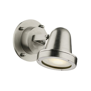 David Hunt Cove Spotlight Wall Nickel