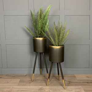 Iron Small Plant Pot Stand