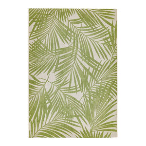Patio Green Palm Rug
