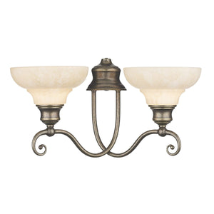 David Hunt Stratford Double Wall Light