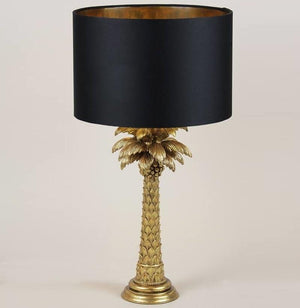 Palm Gold Table Lamp