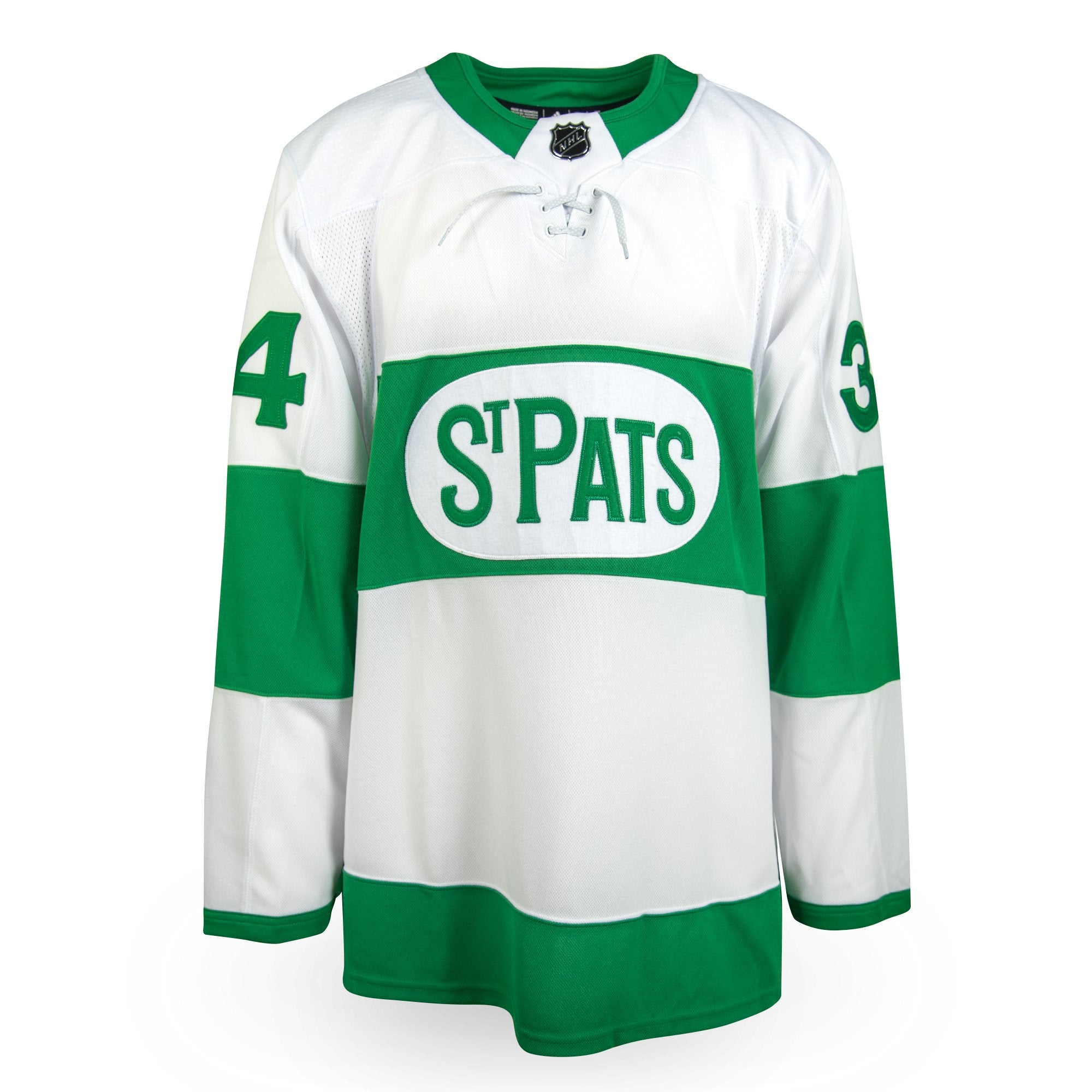 huge selection of 686b1 ecef3 Auston Matthews Adidas Authentic St. Pats Jersey – Prime 1 ...