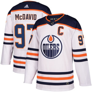 save off ea315 d83fd Connor McDavid Adidas Authentic Road Jersey