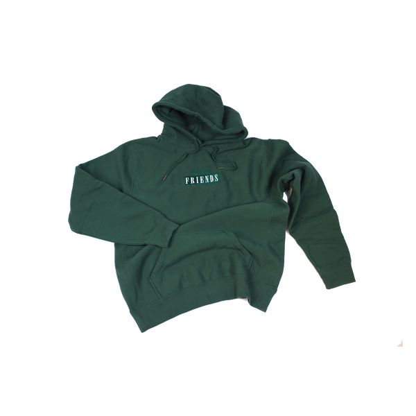 BOX FAUXGO HOODED SWEATSHIRT