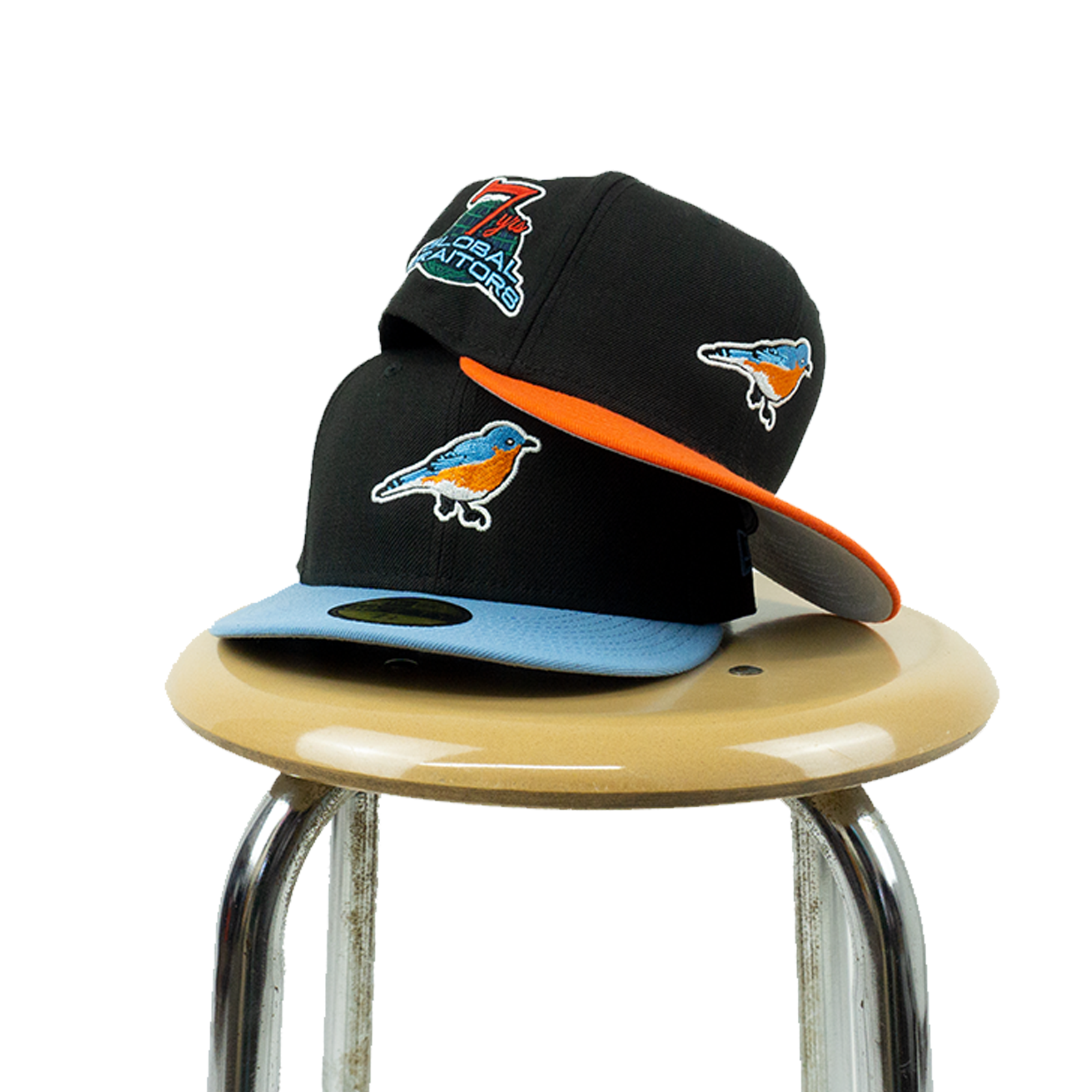"Fauxera ""Blue Bird"" Fitted Cap"
