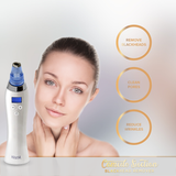 Krasr's Cleansing Probes is the large cleansing probe effectively treats blemishes by working with vacuum suction to remove blackheads instantly and with ease. A smaller size can treat harder to reach areas such as around the nose.