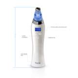 Krasr's Fine Lines Probe pulls skin upwards to treat fine lines by increasing skin's elasticity and firmness through improved blood circulation.