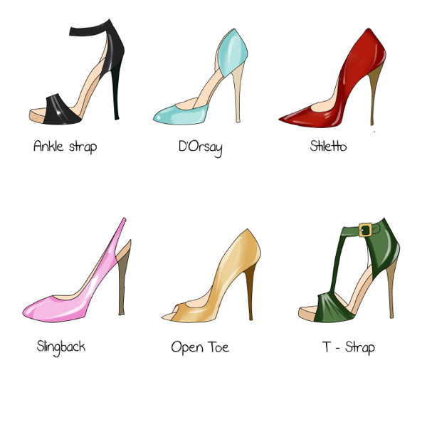 THE PERFECT HEELS TO WEAR
