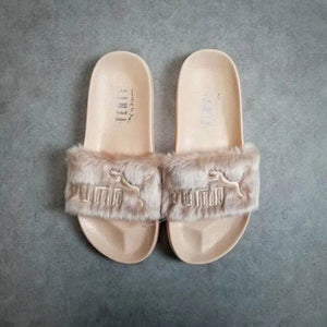 Lover Fur Slipper Shoes