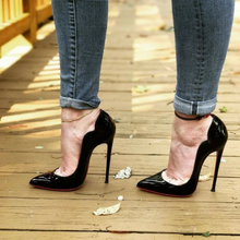Topsqueen Chic Sexy Black Pumps
