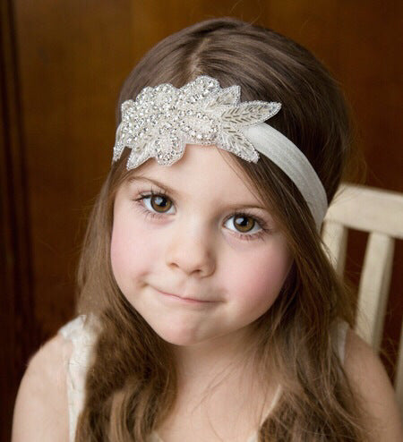 Topsqueen Flower Girl  Crystal Rhinestone Headband