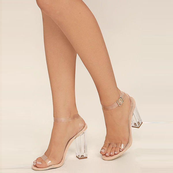 Topsqueen Clean to See Transparent Sandals