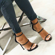 Topsqueen Black Sandals