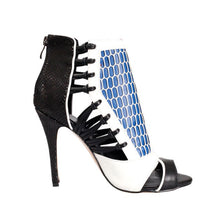 Topsqueen Contrast Color Cut-Outs Sexy Sandals