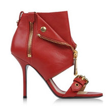 Topsqueen Side Zipper Decoration Ankle Boots