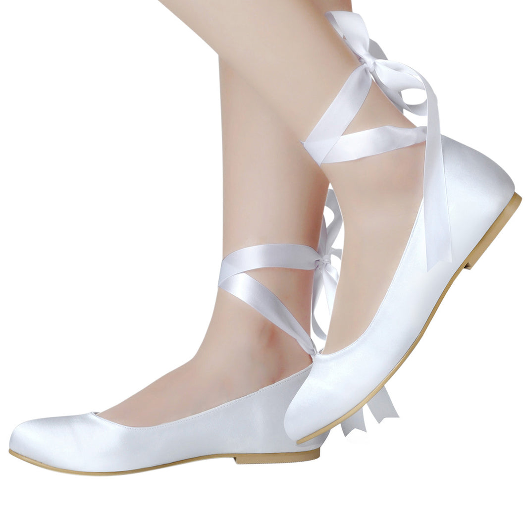 Topsqueen Flat Wedding Ballet Shoes
