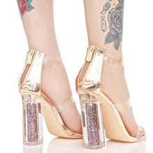 Topsqueen Glitter Clean Sandals