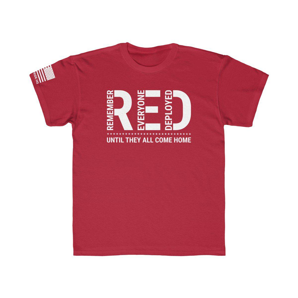 Remember Everyone Deployed Kids Tee