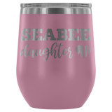 Seabee Daughter Wine Tumbler