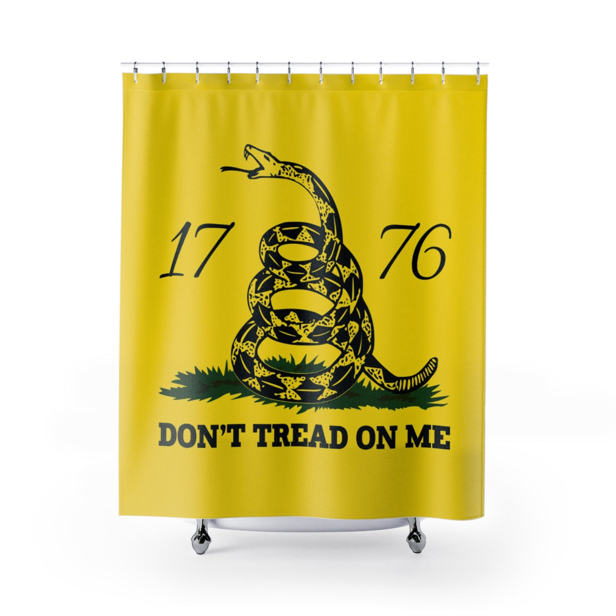 Don't Tread on Me Shower Curtains