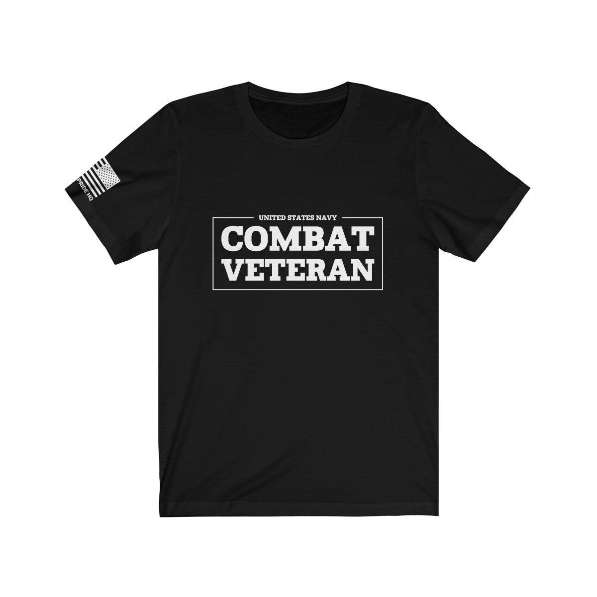 United States Navy Combat Veteran Men's T-Shirt