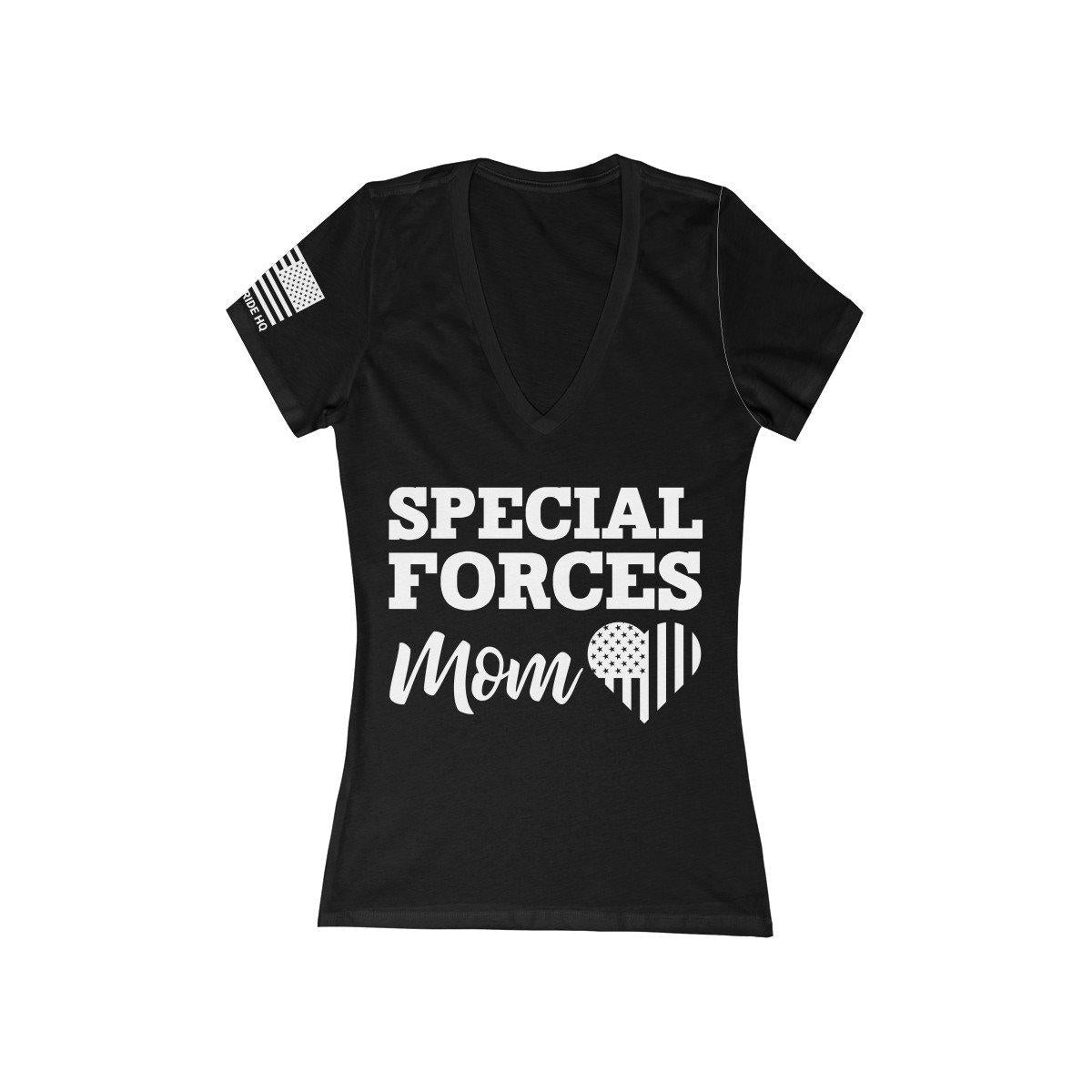 Special Forces Mom Women's V-Neck Tee