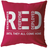 Remember Everyone Deployed Pillow